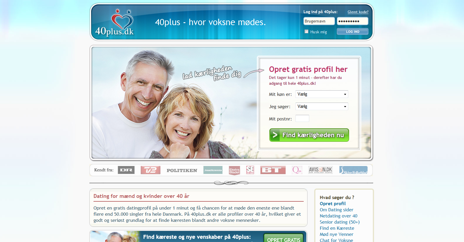 40 plus dating Reviews of the best online dating sites for over 40 singles single men and women over 40 can enjoy dating after 40 by choosing the best over 40 dating site to join.